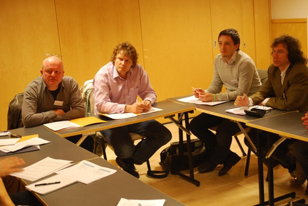 Participants in a Group session